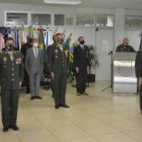 Cerimônia de passagem de chefia do Centro de Defesa Cibernética