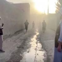 Forças afegãs combatem o Taliban em Kunduz
