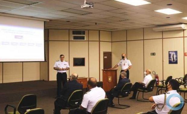 Palestra realizada por ocasião da visita do  Embaixador da Espanha no Brasil ao CINA