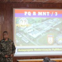 O evento iniciou com um palestra no auditório Marechal Castelo Branco - Crédito: S Ten Ronivaldo