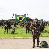 A 1ª Brigada de Infantaria de Selva realizou, no dia 19 de agosto, o apronto operacional da tropa que será empregada na Operação Amazônia 2021