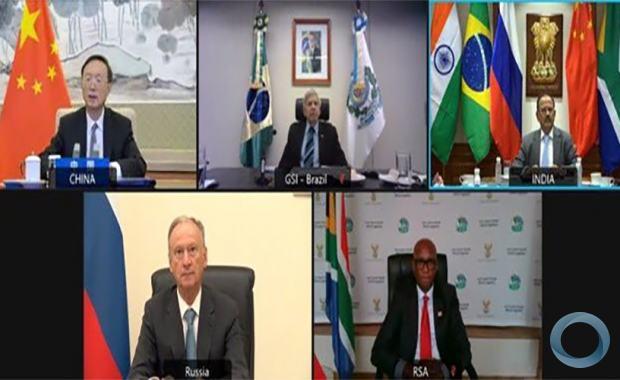 Reunião dos Altos Representantes do BRICS Responsáveis pela Segurança Nacional: A reunião contou com a presença deE General Augusto Heleno (Brasil), General Nikolai Patrushev (Rússia),  Sr. Yang Jiechi (China) e  Ncediso Goodenough Kodwa (África do sul)