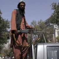 Milicianos do Talibã invadiram Cabul em 16 de agosto de 2021 no final de uma campanha de dez dias.