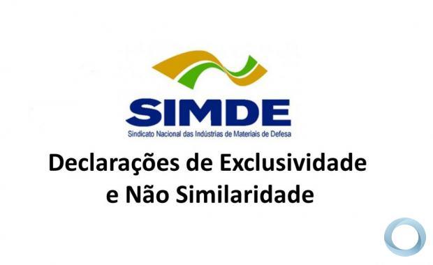 IDE 027/21 Informativo de Declaração de Exclusividade  CBC - CIA Brasileira de Cartuchos