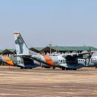 Às portas do Pantanal sul-mato-grosssense, na vasta e plana Base Aérea de Campo Grande (BACG), cerca de 900 militares, apoiados por 30 aeronaves, participam do treinamento juntamente com a Marinha do Brasil e o Exército Brasileiro.
