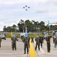 O Exercício, que vai até o dia 10 de setembro, visa a aperfeiçoar os pontos fortes e habilidades operacionais dos membros do Sistema de Cooperação das Forças Aéreas Americanas (SICOFAA)