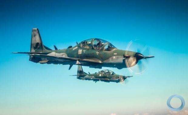 Durante três semanas, os futuros pilotos de caça da Força Aérea Brasileira (FAB) aprenderão as técnicas para emprego da aeronave A-29 Super Tucano contra alvos aéreos.