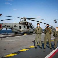 Pilotos das três Forças Singulares operam aeronaves H225M a partir do NAM