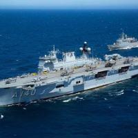 """NAM """"Atlântico"""" opera com várias aeronaves, inclusive do EB e da FAB, e com a Fragata """"Liberal"""""""