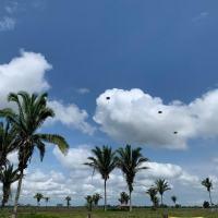 Concluída a adaptação ao ambiente de selva, foi realizado um assalto aeroterrestre, com apoio de uma aeronave militar C-105 Amazonas