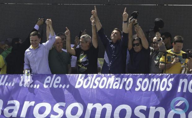 Relatório Otálvora: Tensão no Brasil e Castro-Chavismo à Espreita. Na foto manifestação em Brasília DF, 07SET2021. Foto Agência Brasil