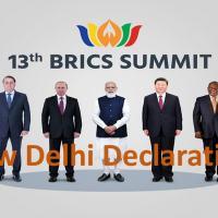 XIII BRICS Summit - New Delhi Declaration