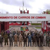Adidos Militares de vários países visitam Santa Maria - Foto 3ª DE