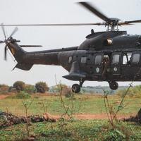 Foram realizadas instruções práticas e teóricas sobre as operações aeroterrestres, treinamento de técnicas, táticas e procedimentos  - Crédito: Sd Wandeir