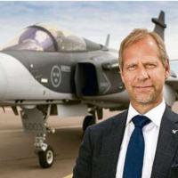 Franzén, vice-presidente SAAB: temos um simulador integral de voo em Gavião Peixoto, único fora da Suécia, para apoio à FAB