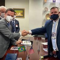 BR-US - Ministro Anderson Torres se reúne com autoridades nos Estados Unidos