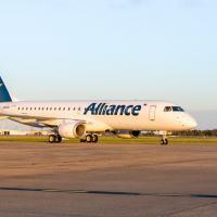 A Alliance adquiriu uma frota de 32 jatos E190