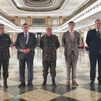 SIMDE visita o Comando Militar do Leste (CML)
