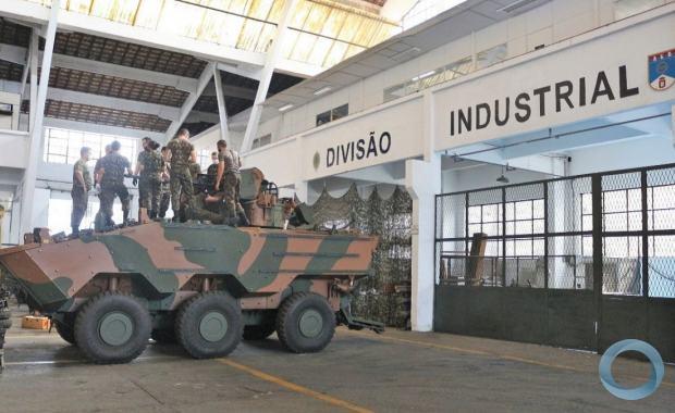 Foram capacitados militares do Parque Regional de Manutenção da 5ª Região Militar, 15º Batalhão Logístico, Centro de Instrução de Blindados, além de militares do próprio AGR.