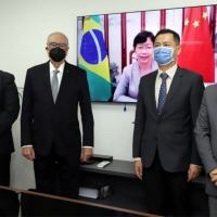 Acordo TV Cultura Sp e a Agência de Notícias chinesa Xinhua. 20 setembro 2021