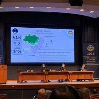 """O Comandante da Marinha proferiu palestra no painel """"Climate Change"""""""