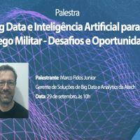 Atech fala sobre os desafios do Big Data e da Inteligência Artificial no SIGE 2021, realizado pelo ITA