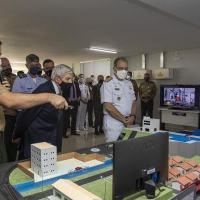 O exercício promoveu um encontro com autoridades e imprensa, com o objetivo de apresentar parte da programação