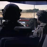 IAI desenvolveu e provou um conceito de combate no qual um AFV, com escotilhas fechadas, é operado por uma tripulação de dois homens e pode enfrentar com sucesso os desafios atuais e futuros no campo de batalha. Foto IAI