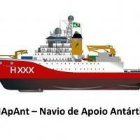 """NApAnt - Projeto """"Navio de Apoio Antártico""""   Marinha do Brasil seleciona a Melhor Oferta"""