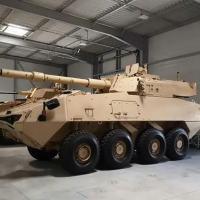 Os canadenses apresentam o LAV-700 da General Dynamics do Canadá.
