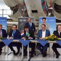 A Embraer assinou hoje um Memorando de Entendimento com a Fokker Techniek e a Fokker Services