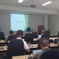 Participaram Oficiais-Alunos estrangeiros, dos  cursos de Altos Estudos Militares da EGN e da ECEMAR
