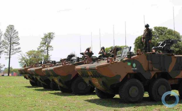 O Estágio faz parte do processo de mecanização da 11ª Bda Inf L