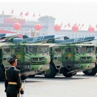 China mostrou mísseis hipersônicos em uma parada militar neste ano