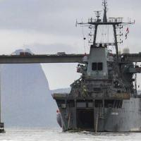 """Desembarque do CLANF do NDCC """"Almirante Saboia"""""""