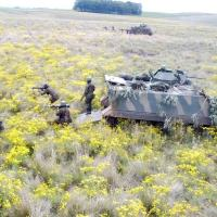 O objetivo da atividade foi realizar treinamento no contexto de operações ofensivas.