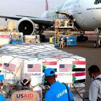 Um carregamento de vacinas da Covax chegou ao Sudão no início de outubro