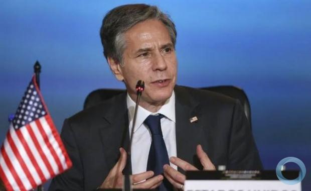 (Arquivo) O secretário de Estado americano, Antony Blinken (AFP/LUISA GONZALEZ)