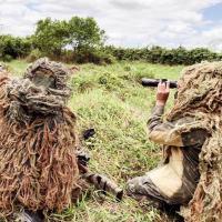 A atividade exigiu dos militares muita técnica, concentração e preparo físico