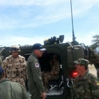 Colombia's Combined Arms Task Force is currently training in the north of the country. [Colombian Air Force]