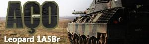 Cobertura Especial AÇO - Leopard 1A5Br